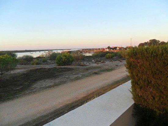 Vila Galé Albacora : Vista ria final do dia