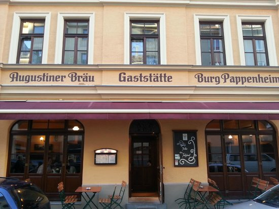 Burg Pappenheim: Собственно сам ресторан
