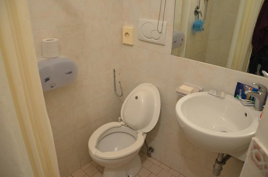 Hotel Ausonia: Наша ванная