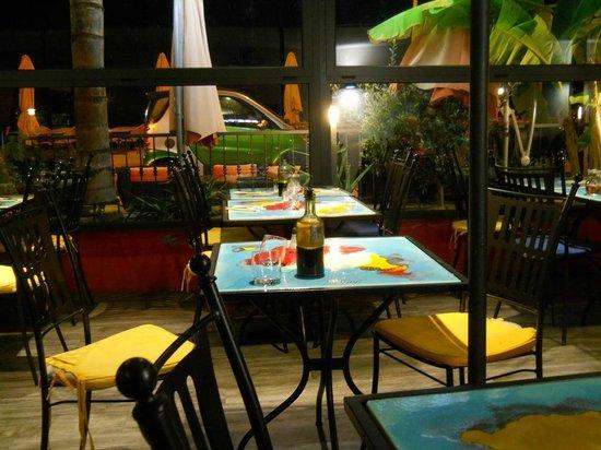 Restaurant Le Tagliatelle : Veranda