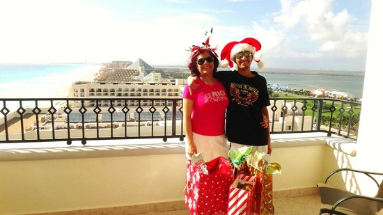 Christmas on our balcony picture of jw marriott cancun for On our balcony