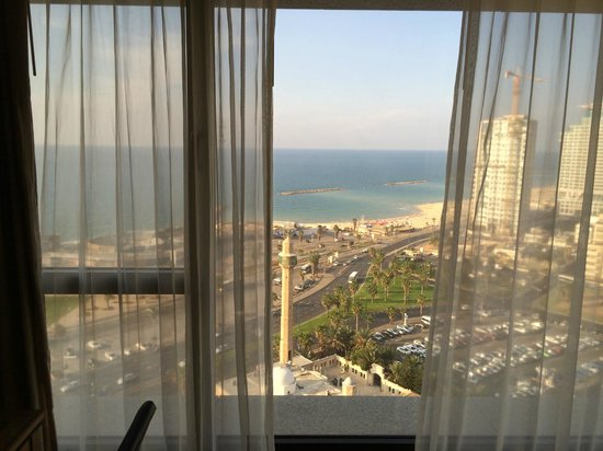 InterContinental David Tel Aviv: Вид из окна