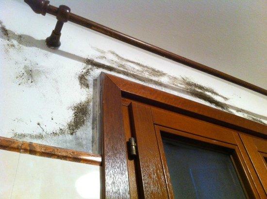 Hotel da Bruno : Schimmel im Badezimmer