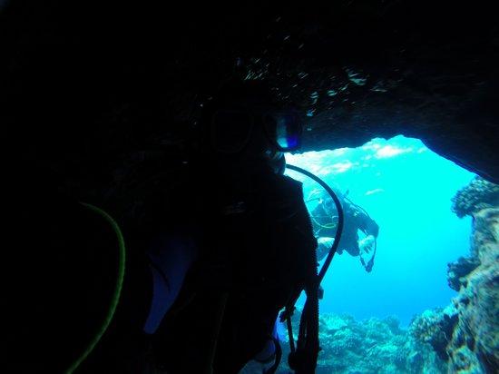 Espace Plongée : plongée dans les lava tube