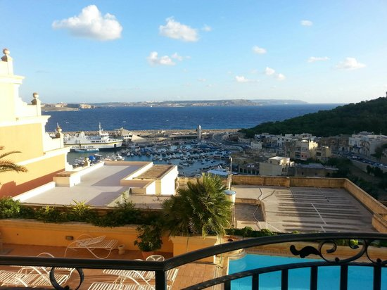 Grand Hotel Gozo: view from room