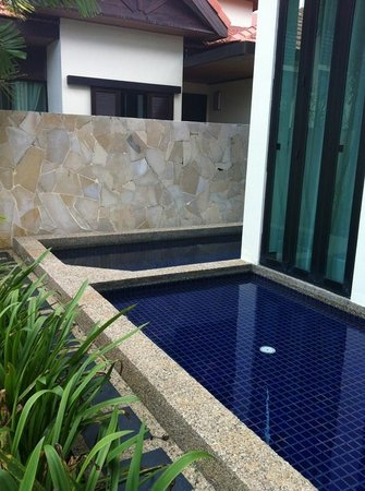 Nexus Resort & Spa Karambunai : Pool at the Villa