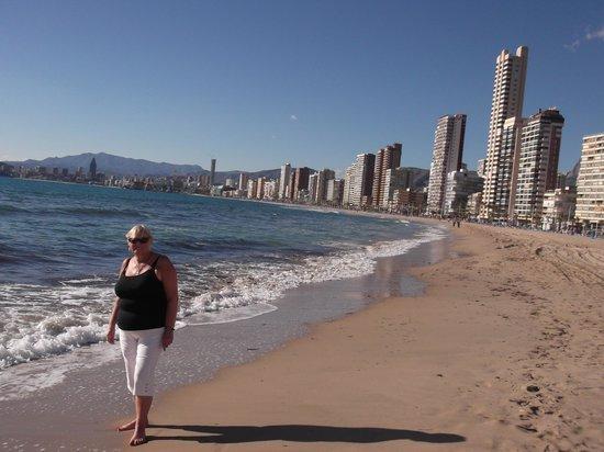 Hotel Ambassador Playa I & II: the lovely beach in November