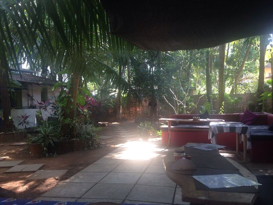 The Village Guesthouse : Breakfast view.