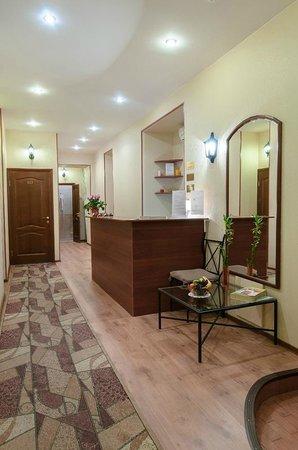 Mini-hotel Olimp : reseption