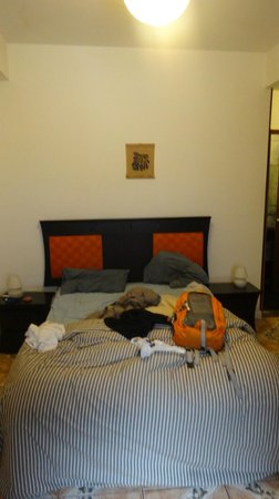 Milhouse Hostel Cusco : double bed