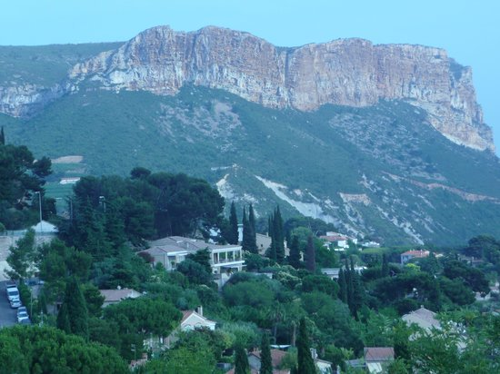 L'Avila Cassis: View from our balcony