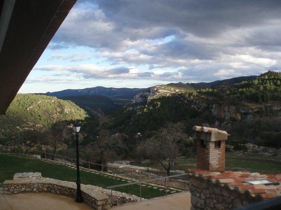 Font  d'en  Torres: vista desde lahabitación