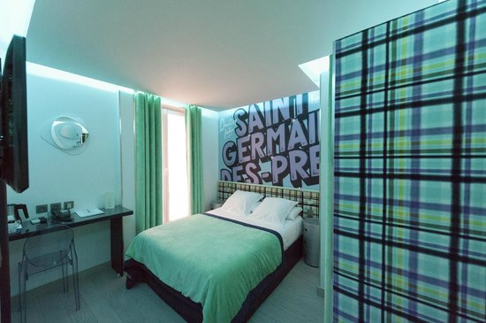 Moderne St-Germain Hotel: Friend's Room