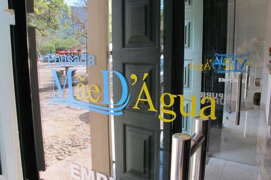 Hotel Pousada Mae d'Agua: Entrada principal