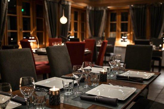 Restaurant Hôtel Bellevue : Restaurant le Bellevue - Les Gets