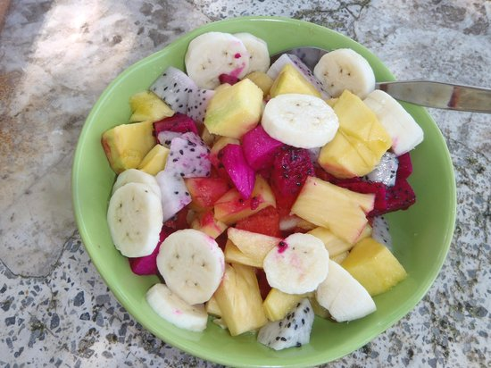 Paradise Palms Resort: Fruitsalad