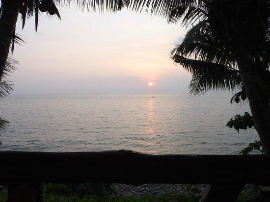 Paradise Palms Resort: Sonnenuntergang auf Bungalowterasse