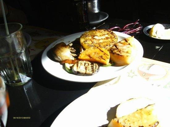 Jauja Restaurante y Parrilla: legumes grelhados