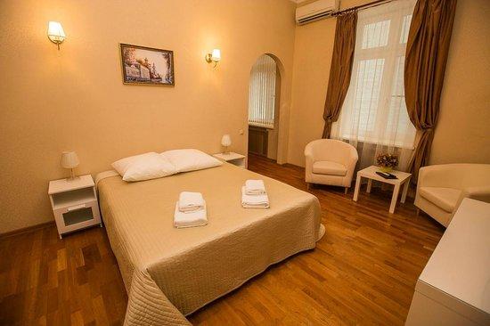 Gorkoff at Malaya Bronnaya: Junior suite