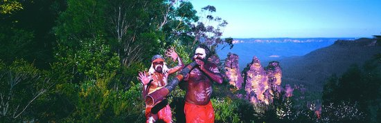 Frontier Photographic Safaris: Blue Mountains Aboriginies