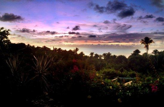 Hacienda de la Costa: Aussicht vom Balkon