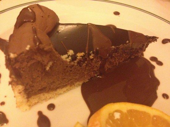 Osteria del Treno: Mousse di cioccolato