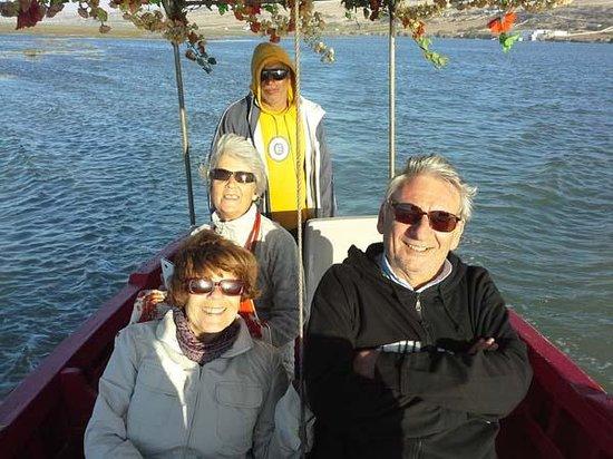 Ostrea II : Promenade en barque sur la lagune