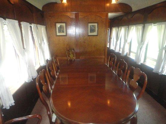 Lehigh Gorge Scenic Railway: 1st class
