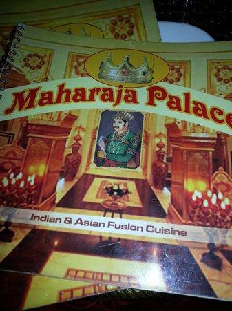 Maharaja Palace: Menu