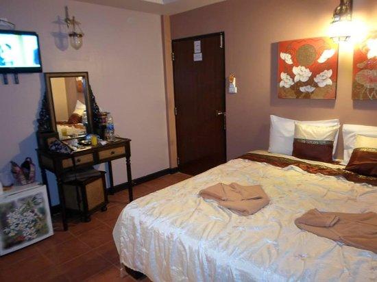 Teeraya Boutique Hotel: tak wygladają pokoje - 2os