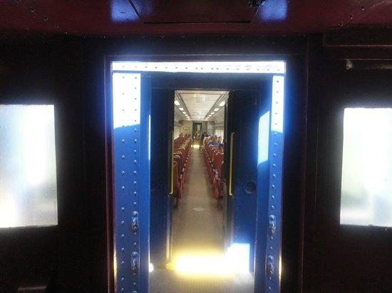 Lehigh Gorge Scenic Railway: Entrance to eco class
