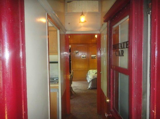 Lehigh Gorge Scenic Railway: Enterance to First Class