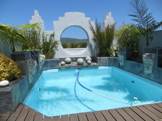 On The Estuary Guesthouse: Pool and decking area