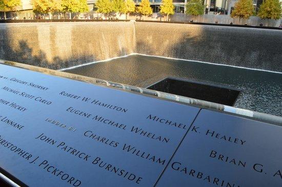 National September 11 Memorial und Museum: Piscina