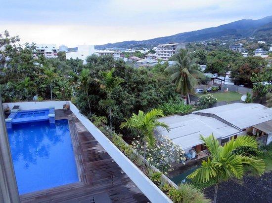 Hotel Tahiti Nui : Aussicht