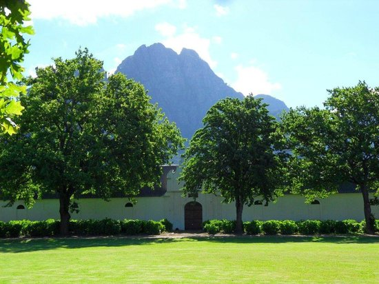 Boschendal Manor & Winery: View