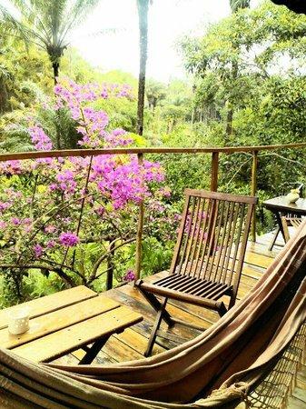 Pousada Quinta do Caju: Vista desde el bungalow