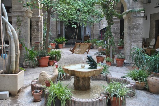 Hotel Balneario Sierra Alhamilla: Patio interior