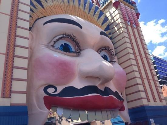 Luna Park Sydney: movember