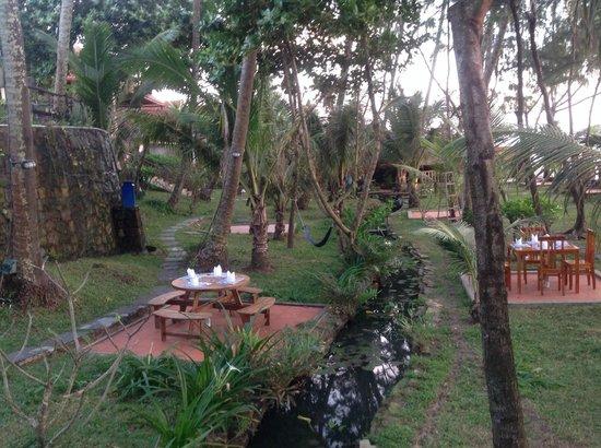 Cassia Cottage - The Spice House: restaurant in garden