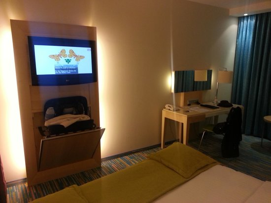 Radisson Blu Hotel, Hamburg Airport: Zimmer