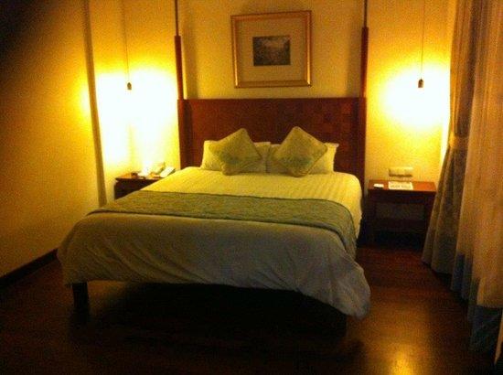 The Patra Bali Resort & Villas : Cama comoda