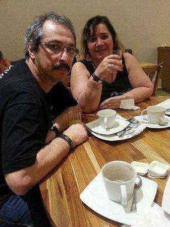 café da manhã Hotel Pompeu Rio de Janeiro
