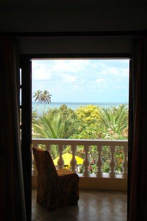 Hotel Villa Terra Viva: Vista do apartamento superior