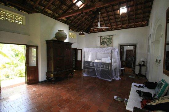 Templeberg Villa: chambre