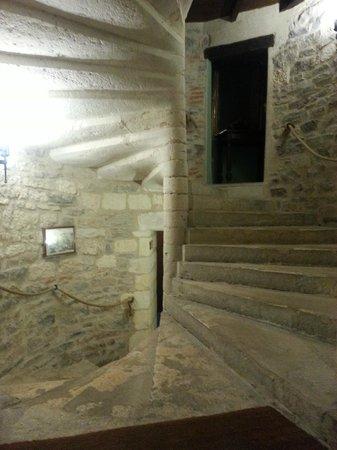 Hostellerie du Vieux Cordes : Escalier
