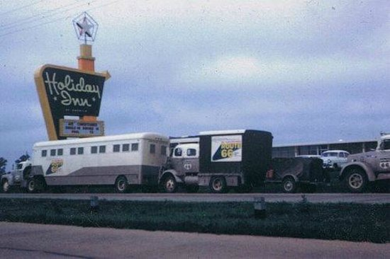 Route 66 Hotel And Conference Center : The Old Holiday Inn 1970's - NOW Route 66 Hotel -