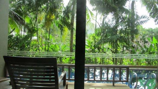Alpina Phuket Nalina Resort & Spa : the view from the room