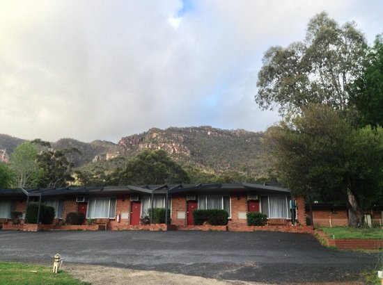 The Grampians Motel & The Views Restaurant, Halls Gap: View of the rooms block