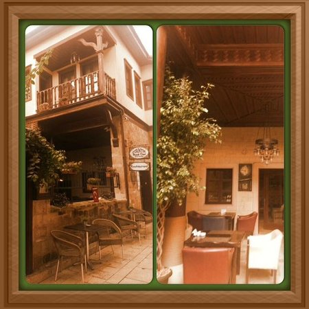 Otantik Butik Otel: bahçe